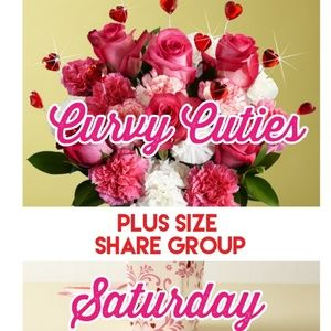 Tops - 2/9 (CLOSED) PLUS SHARE GROUP: Curvy Cuties